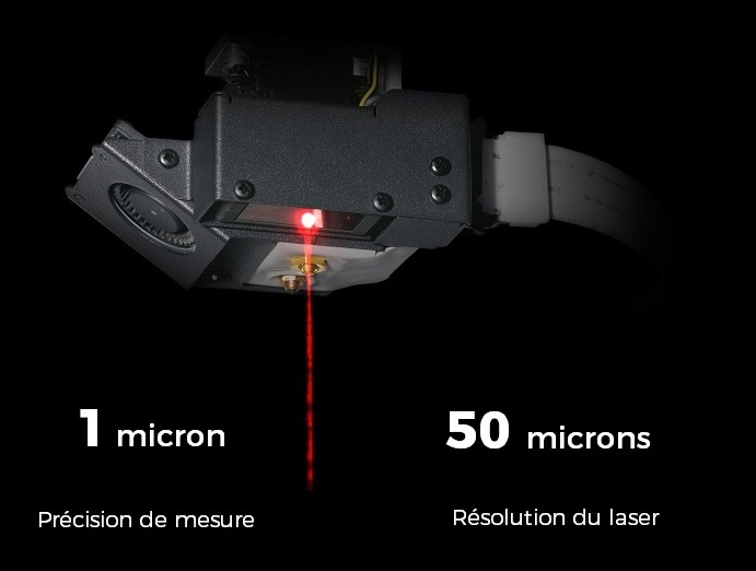 Contrôle laser Markforged