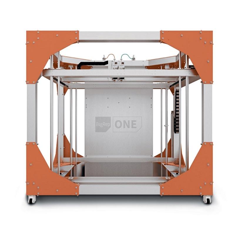 Impression d'un mètre cube avec l'imprimante 3D BigRep One